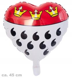 Folienballon Köln Herz