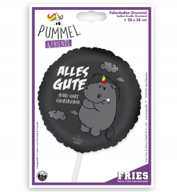 Folienballon Grummel Pummel-Einhorn
