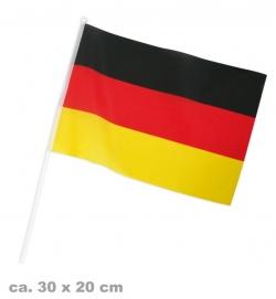 Deutschland Flagge 16 x 25 cm