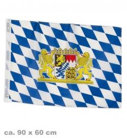 Fahne Bayern, ca. 90 x 60 cm