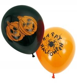 Luftballon mit Halloween Motiv 6er Pack