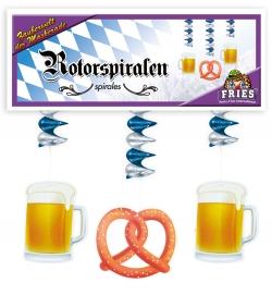 Rotorspirale Bavaria, 3er Set, Länge ca. 60 cm