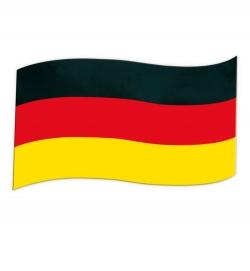 Deutschland Fahne Flagge magnetisch 30 x 20 cm