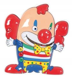 Wand-Deko Clown, ca. 57 cm Höhe