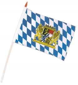 Bayern-Fahne, ca. 15 x 20 cm