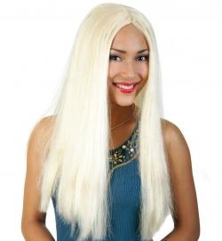 Langhaar Faschingsperücke Farbe blond
