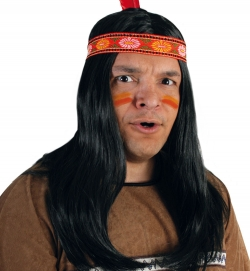 Perücke Indianer Manni