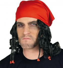 Piratentuch mit Haaren