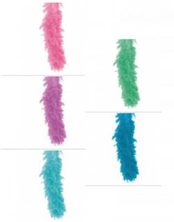 Federboa, pastell, ca. 1,80 m Länge, ca. 45 g