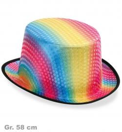 Zylinder Rainbow, Gr. 58 cm