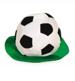 Fußball Hut mit Rasen