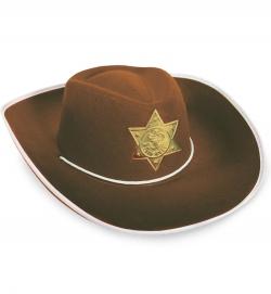 Cowboyhut, braun, Gr. 57 cm