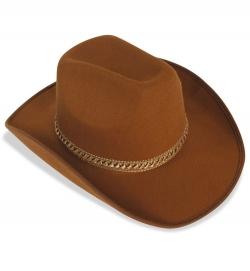 Cowboyhut braun, Gr. 58 cm