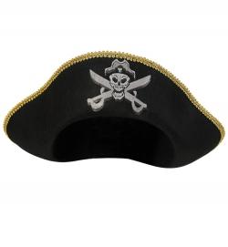 Piratenhut mit Totenkopf