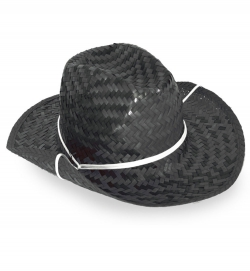 Cowboyhut Stroh, Gr. 58 cm