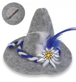 Haarclip Edelweiss (Fascinator)