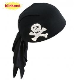 Piraten-Haube blinkend