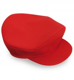 Klempner Mütze rot Schildmütze