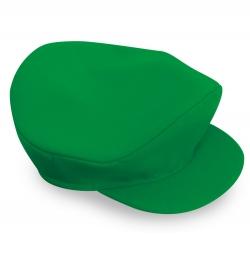 Klempner Mütze grün Schildmütze
