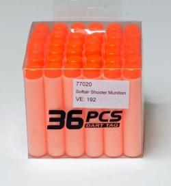 Soft Shooter Munition, Box mit 36 Stück