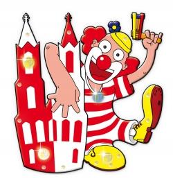 Blinkie Dom-Clown Köln
