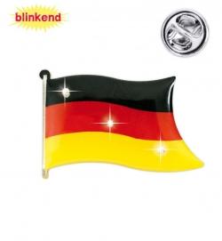 Anstecknadel Deutschland mit Blinkeffekt