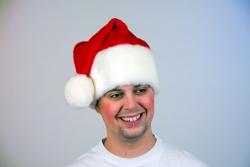 Weihnachtsmütze Plüsch