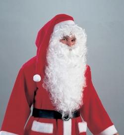 Weihnachtsmann Rauschebart weiß