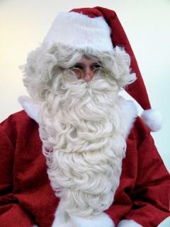 Weihnachtsmann Rauschebart flachsblond