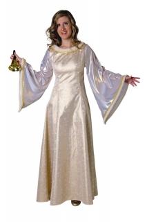 Engelsgewand Christkind Kostüm goldfarben
