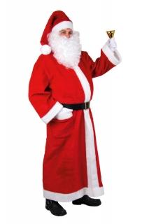 Weihnachtsmann Kostüm Plüsch