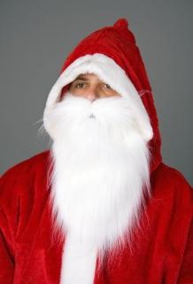 Plüschbart Weihnachtsmann