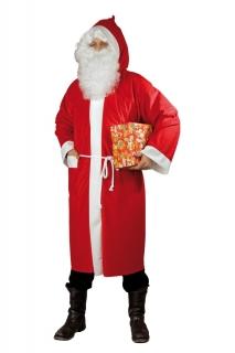 Weihnachtsmann-Mantel aus Waschsamt