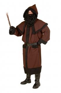 Knecht Ruprecht Mantel Weihnachtskostüm mit Gürtel