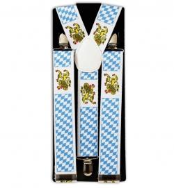 Hosenträger Oktoberfest Bayern