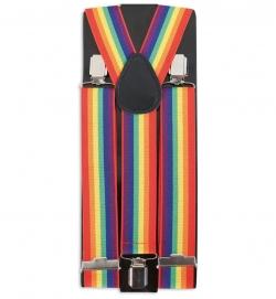 Hosenträger Regenbogen bunt Rainbow