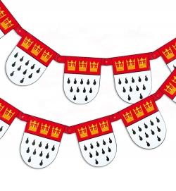 Girlande Köln Wappen, ca. 3 m Länge