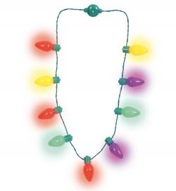 Lichter-Halskette, 6 Blinkintervalle, ca. 95 cm Länge