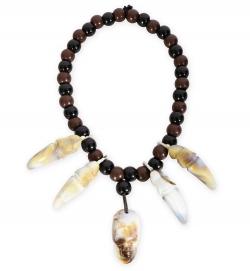 Halskette Voodoo, dehnbar durch Gummiband