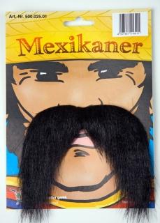 Faschingsbart Mexikaner