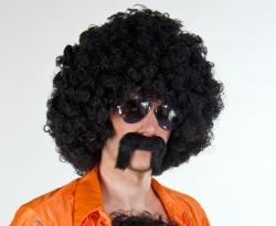 Zuhälter-Bart schwarz