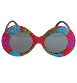 Glitter-Brille