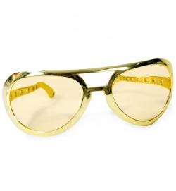 Riesenbrille, gold, ca. 24 cm Breite