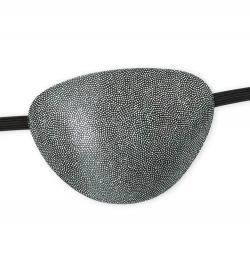 Augenklappe silber