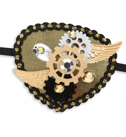 Augenklappe Steampunk Version 2