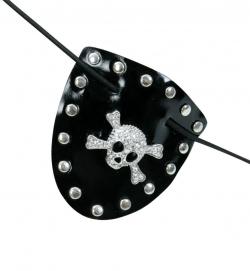 Augenklappe für Piraten - Totenkopf