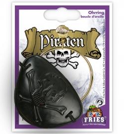 Piraten Set Ohrring und Augenklappe