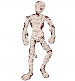 Deko Mumie beweglich, ca. 135 cm