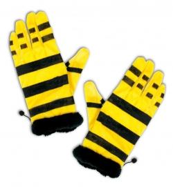 Handschuhe für Kostüm Biene