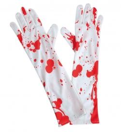 Handschuhe mit Blut
